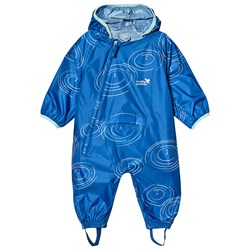 Muddy Puddles Navy Puddle Print PuddlePac Coverall