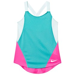 NIKE Blue and Pink Nike Dry Tank Top
