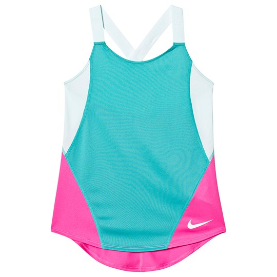 NIKE Blue and Pink Nike Dry Tank Top 310