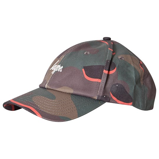 Hype Pop Camo Cap Green пестрый