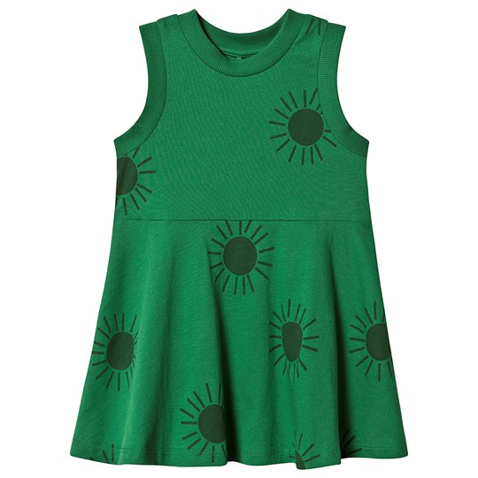 Mini Rodini Sun Tank Dress Green Green
