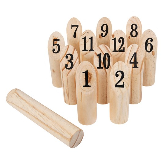 Oliver & Kids Wooden Number Toss Game