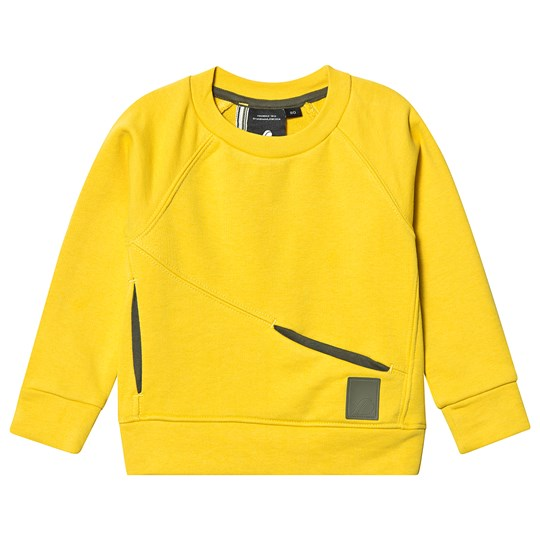 Didriksons Masken Sweatshirt Dusty Yellow DUSTY YELLOW