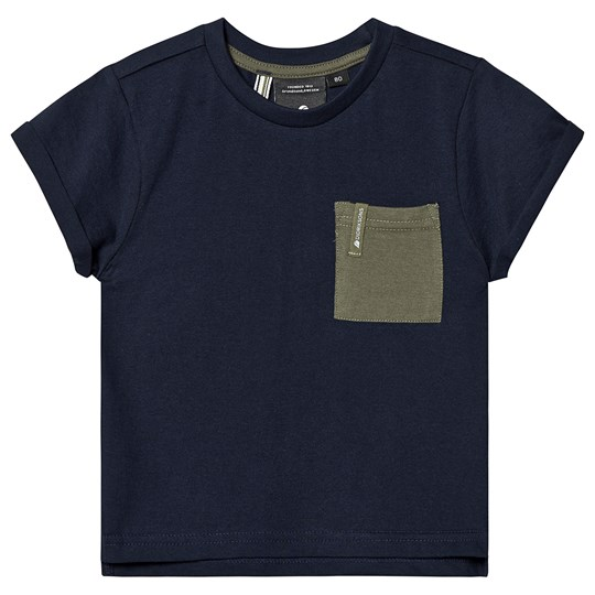 Didriksons Originals Duvan Kids T-Shirt Navy Navy