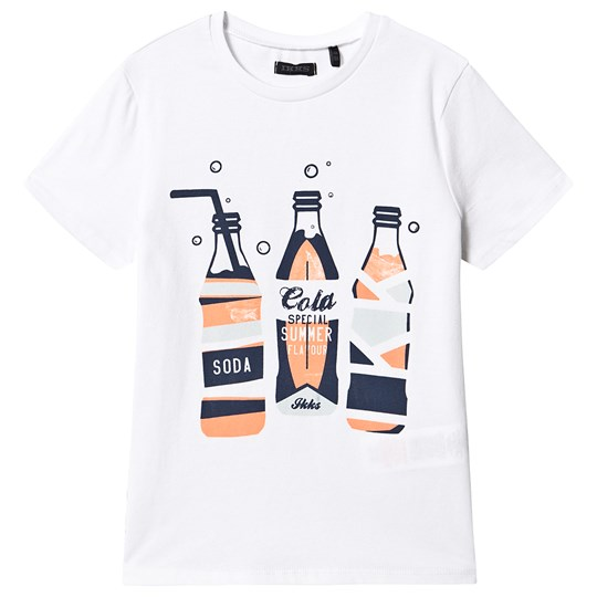 IKKS White Cola Bottle Print Tee 01