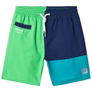 Image of Reima Wavepower Shorts Brave Green 140 cm (9-10 år) (1285473)