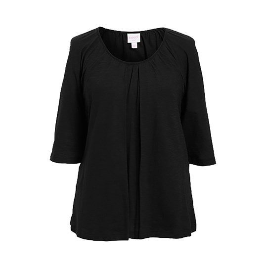 Boob Breeze Blouse Black Black