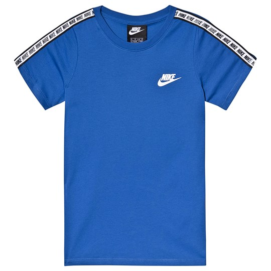 NIKE Blue Repeat Branded Tee 480