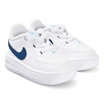 online store 58af9 7b8df NIKE Force 1 Infants Sneakers Vit och Blå 102