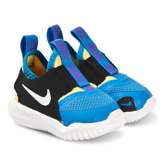 San Francisco 1534d c5d60 NIKE - Blue Nike Flex Runner Infants Trainers - Babyshop.com