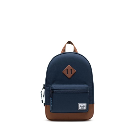 Herschel Heritage Kids Ryggsäck Mörkblå/Saddle Brown Navy Saddle brown