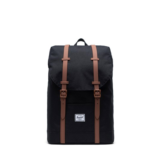 Herschel Retreat Youth Ryggsäck Svart/Saddle Brown Black Saddle Brown