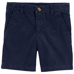 Carter's Flat Front Canvas Shorts Navy