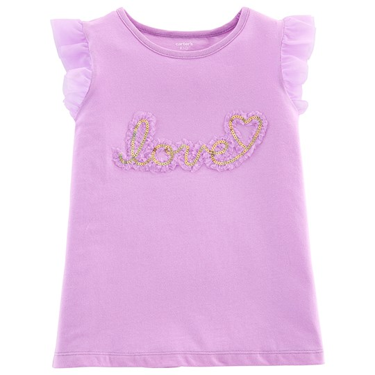 Carter's Love Top Purple PURPLE (500)