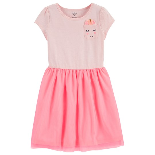 Carter's Unicorn Tulle Dress Pink LT.PINK (680)