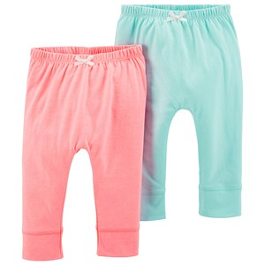 """Image of Carter""""s 2-Pack Bubble Pants Pink/Turquoise 6 mdr' (1329529)"""