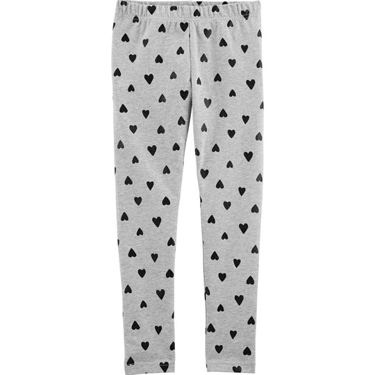 Carter's Heart Leggings Grey PRINT (969)
