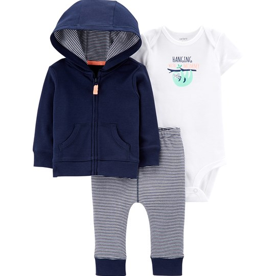 Carter's Sloth Little Jacket Set Navy NAVY (400)