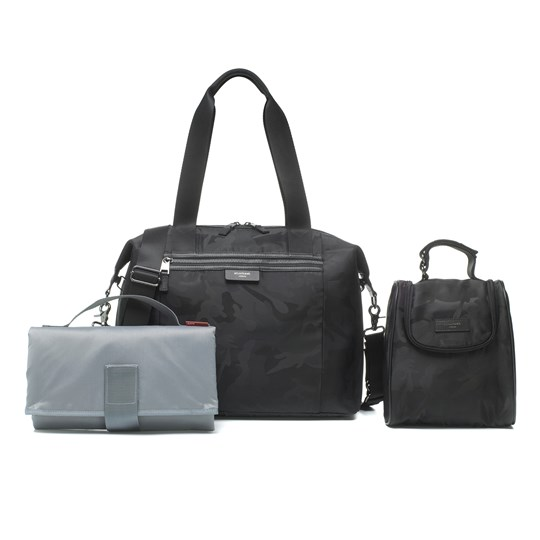 Storksak Stevie Luxe Changing Bag Camo Black Camo Black