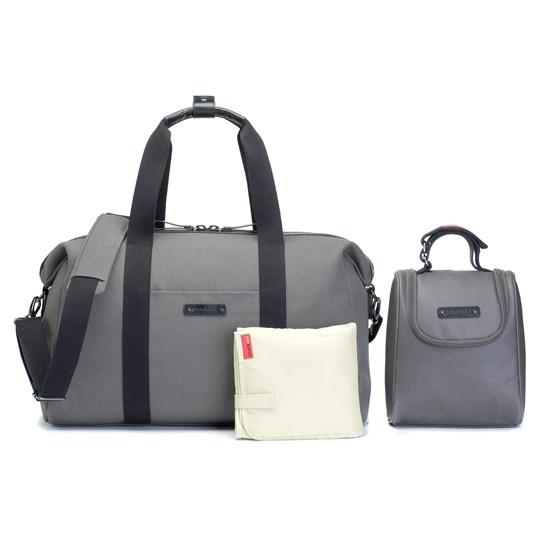 Storksak Bailey Weekender Changing Bag Charcoal Charcoal