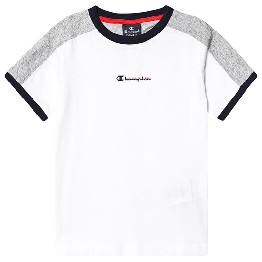 Champion Branded Tee White WHT/NOXM/NNY