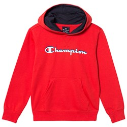 Champion Branded Hoodie Red