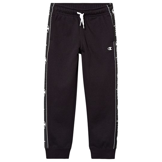 Champion Branded Sweatpants Black NBK
