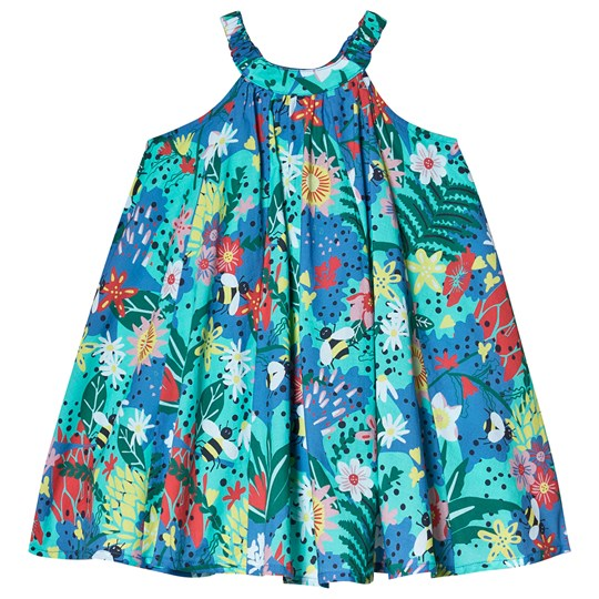Frugi Tabitha Floral Trapeze Dress Hothouse Floral