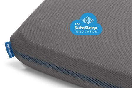 Bilde av Aerosleep 60x120 Sleep Safe Fitted Sheet Grey One Size