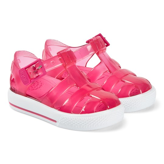 Igor Crystal Fuchsia Tennis Jelly Sandals 073