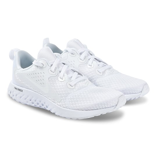 NIKE White Nike Legend React Trainers 100