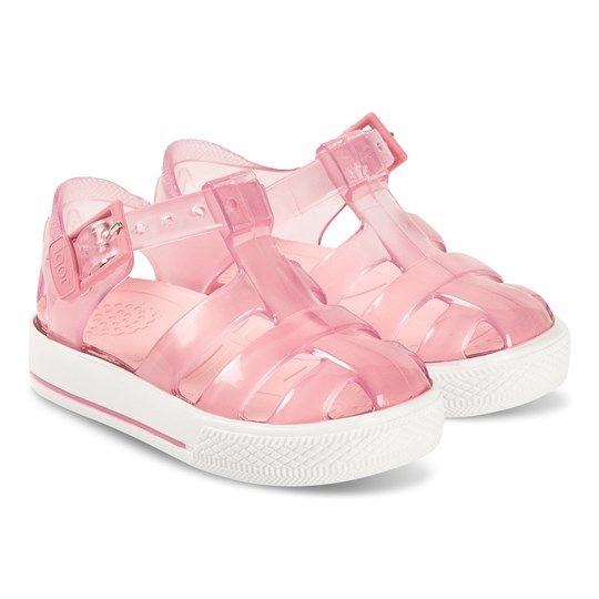 Igor Crystal Pink Tennis Jelly Sandals 090