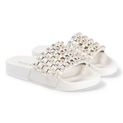 Lelli Kelly White Vittoria Pearl Sliders