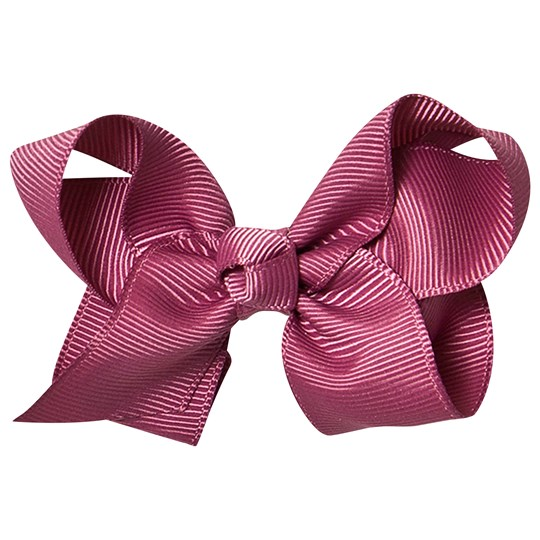Petite Olivia Medium Hair Bow Dusty Rose Dark Dusty Rose