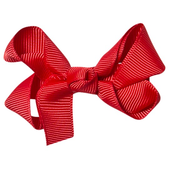 Petite Olivia Mini Hair Bow Red Punainen