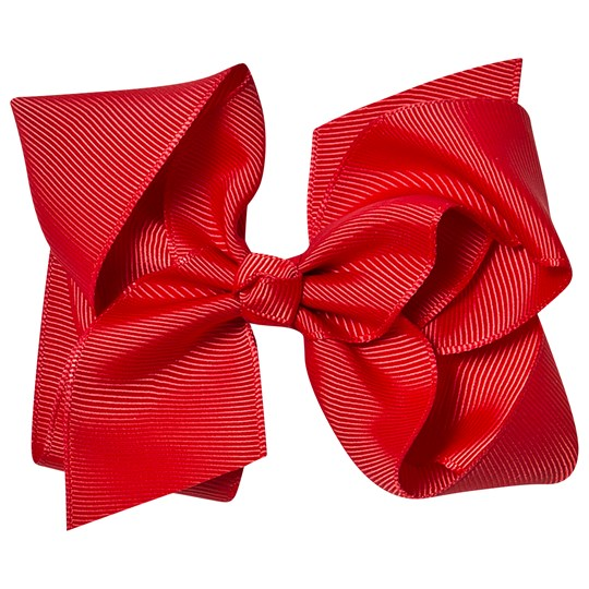 Petite Olivia Large Hair Bow Red Punainen