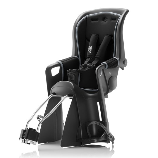 Britax Jockey² Relax Bike Seats Black Grey Black