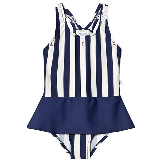 ebbe Kids Thyra Swimsuit Classic Navy Stripe Classic navy stripe