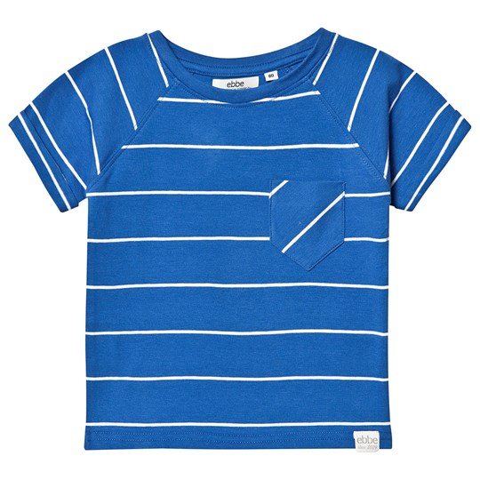 ebbe Kids Nathan Tee Classic Blue Classic Blue white striped
