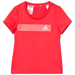 adidas Performance Coral Cool Branded Tee