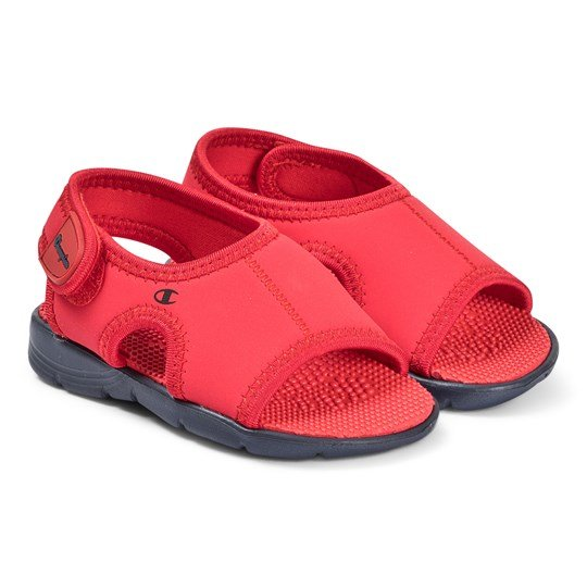 Champion Velcro Sandals Red RED/NNY
