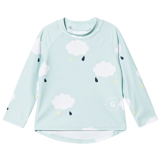 Geggamoja UV-Long Sweater Cloud Green