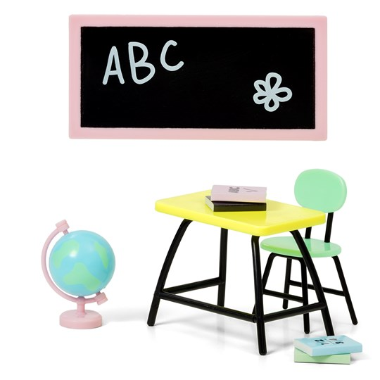 Lundby Classroom Doll House Furniture