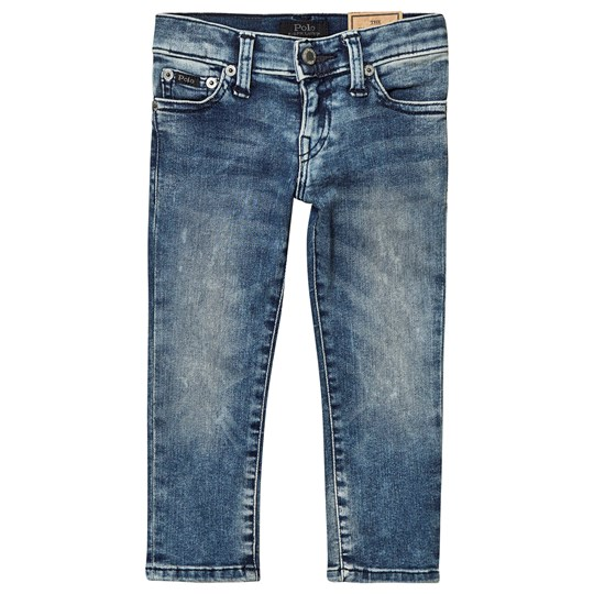 Ralph Lauren Mid Washed Skinny Strech Jeans 001