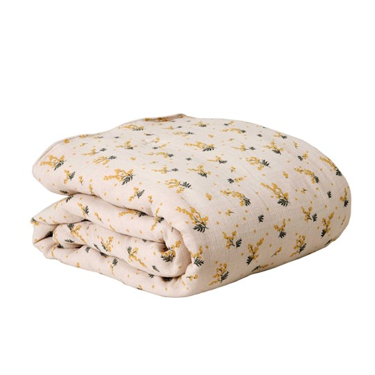 garbo&friends Filled Muslin Blanket Mimosa Multi