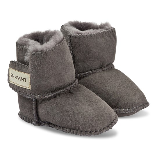 EnFant Booties Grey Black