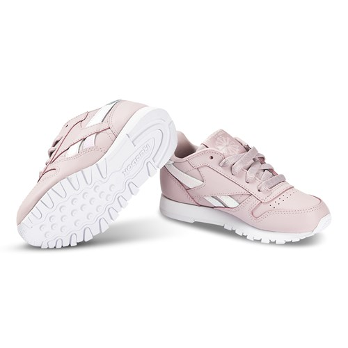 Dusty Pink Classic Leather Trainers
