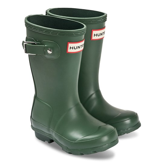 Hunter Original Kids Rain Boots Green Green