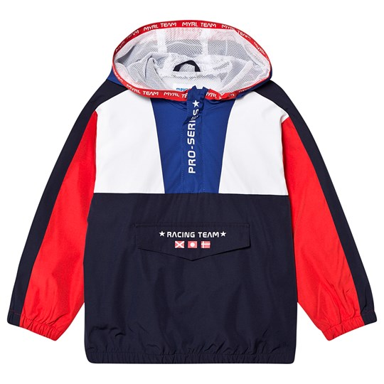 Mayoral Red White and Navy Front Pocket Windbreaker 22
