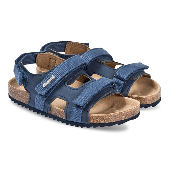 Mayoral Navy Blue Velcro Strap Sandals 43